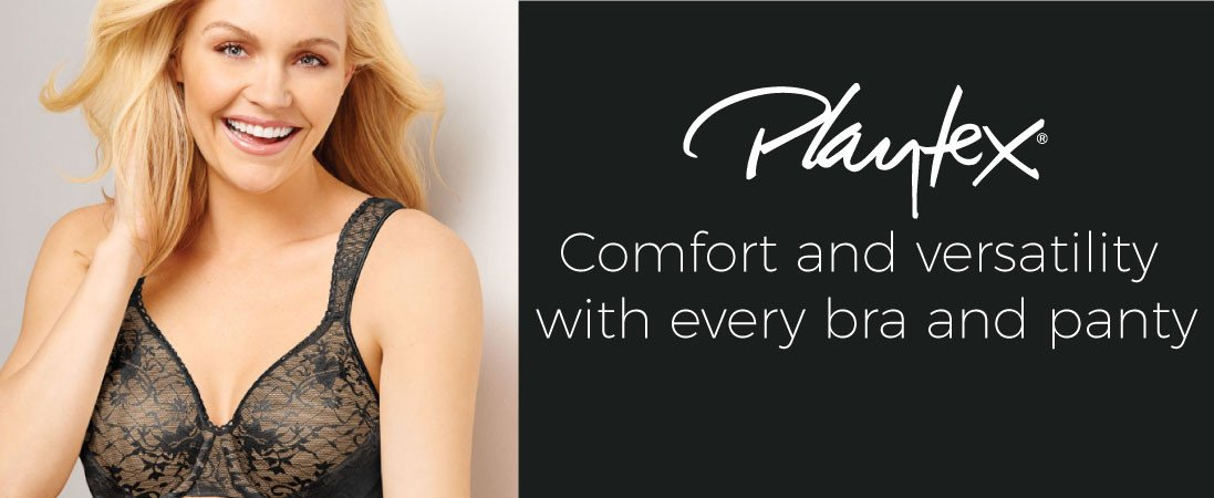 b718ebac37 Womens Playtex Collection