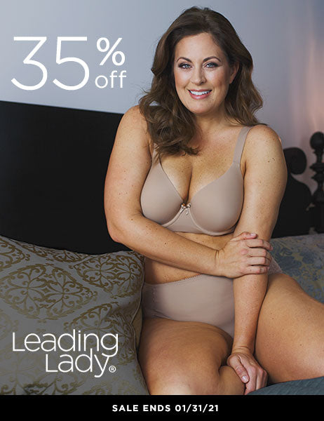 Leading lady 35% off