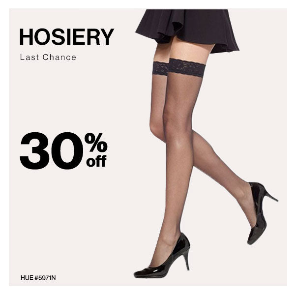 Women's hosiery for everyday wear or special occasions.