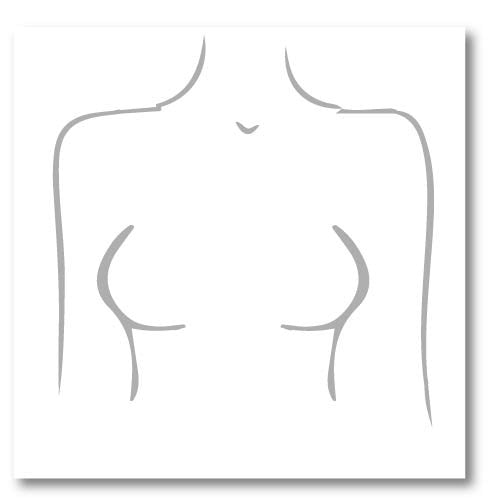 Closely spaced breasts