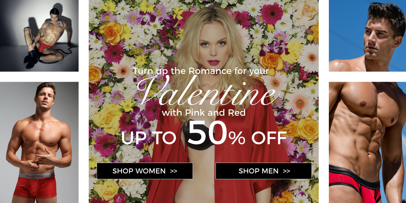 Turn up the romance for your valentine with pink and red up to 50% off. Shop women. Shop men.