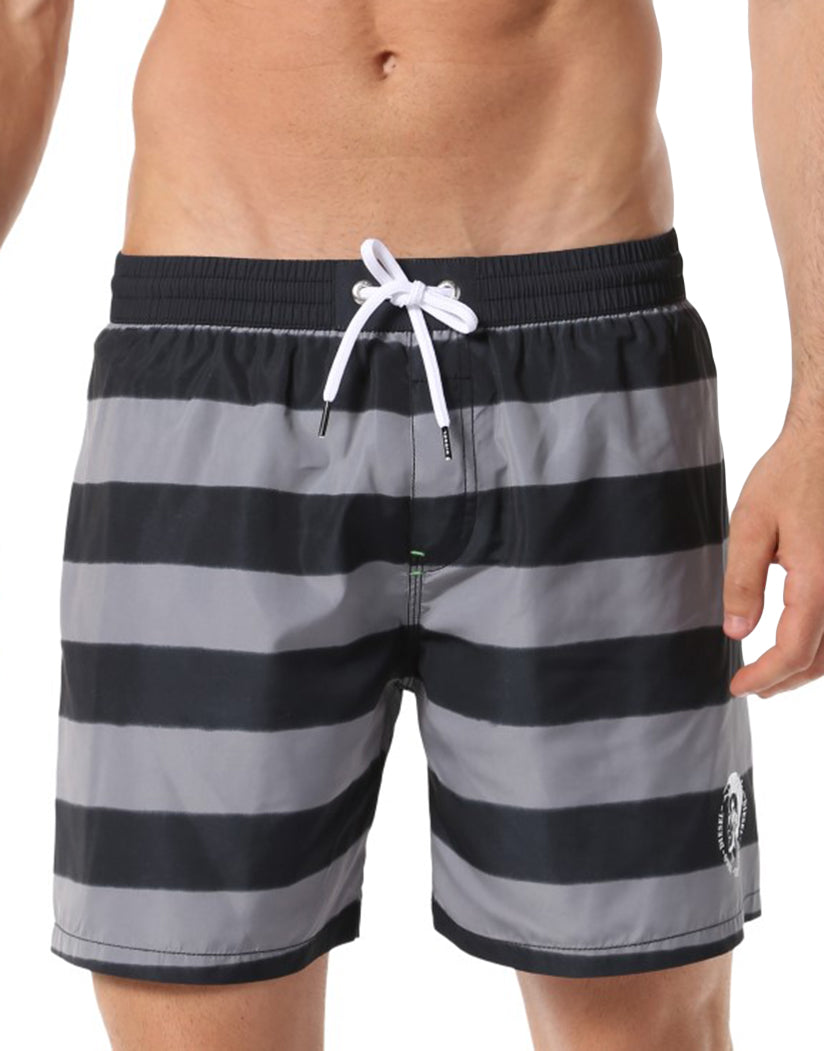 Black Front Diesel Wave Swim Boxer