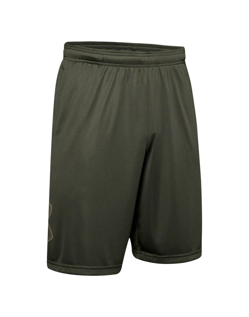 Baroque Green/Outpost Green Front Under Armour Tech Graphic Short 1306443