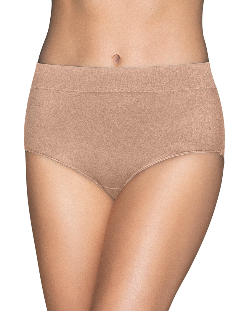 Honey Beige Front Vanity Fair Beyond Comfort Brief 13213