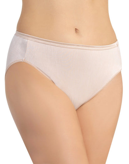 Rose Beige Front Vanity Fair Illumination Hi-Cut Panty