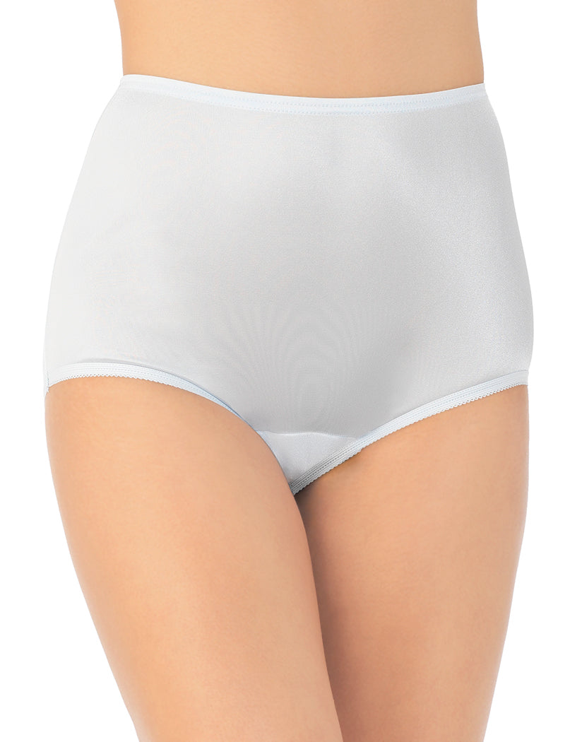 Soft Blue Front Perfectly Yours Ravissant Premium Tailored Nylon Brief