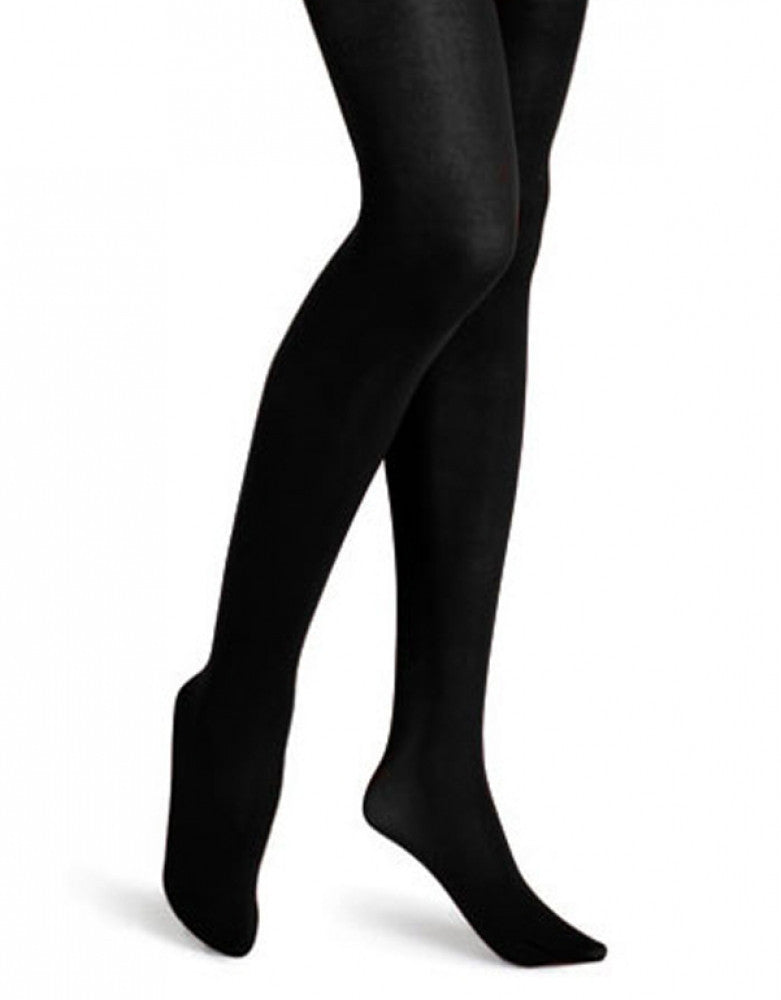 Black Side HUE Super Opaque Tight with Control Top 6620