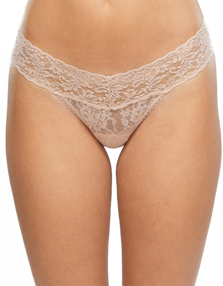 Chai Front Hanky Panky Stretch Signature Lace Low Rise Thong
