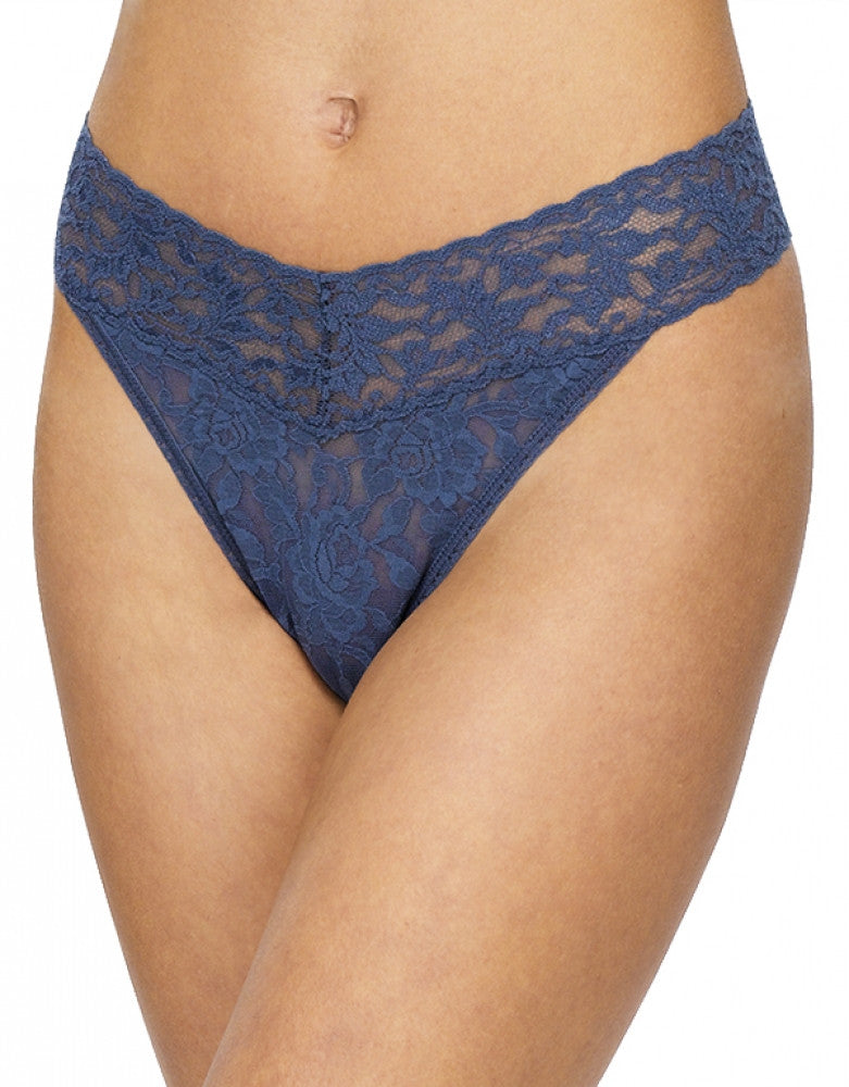 Nightshadow Front Hanky Panky Signature Stretch Lace Thong