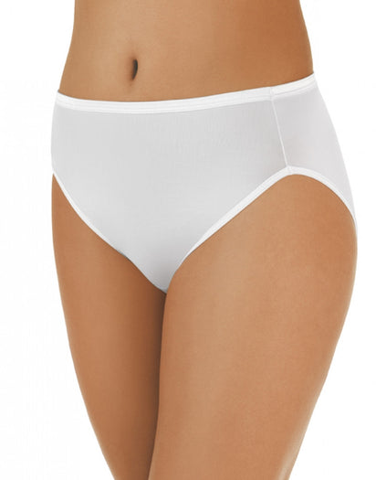 Star White Front Vanity Fair Illumination Hi-Cut Panty