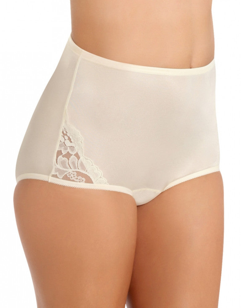 Candleglow Front Vanity Fair Perfectly Yours Lace Nouveau Brief