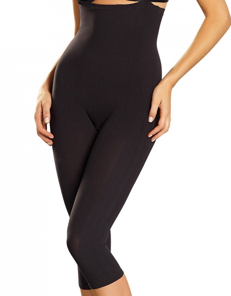 Black Front Leonisa Moderate Control Full Body Shaper
