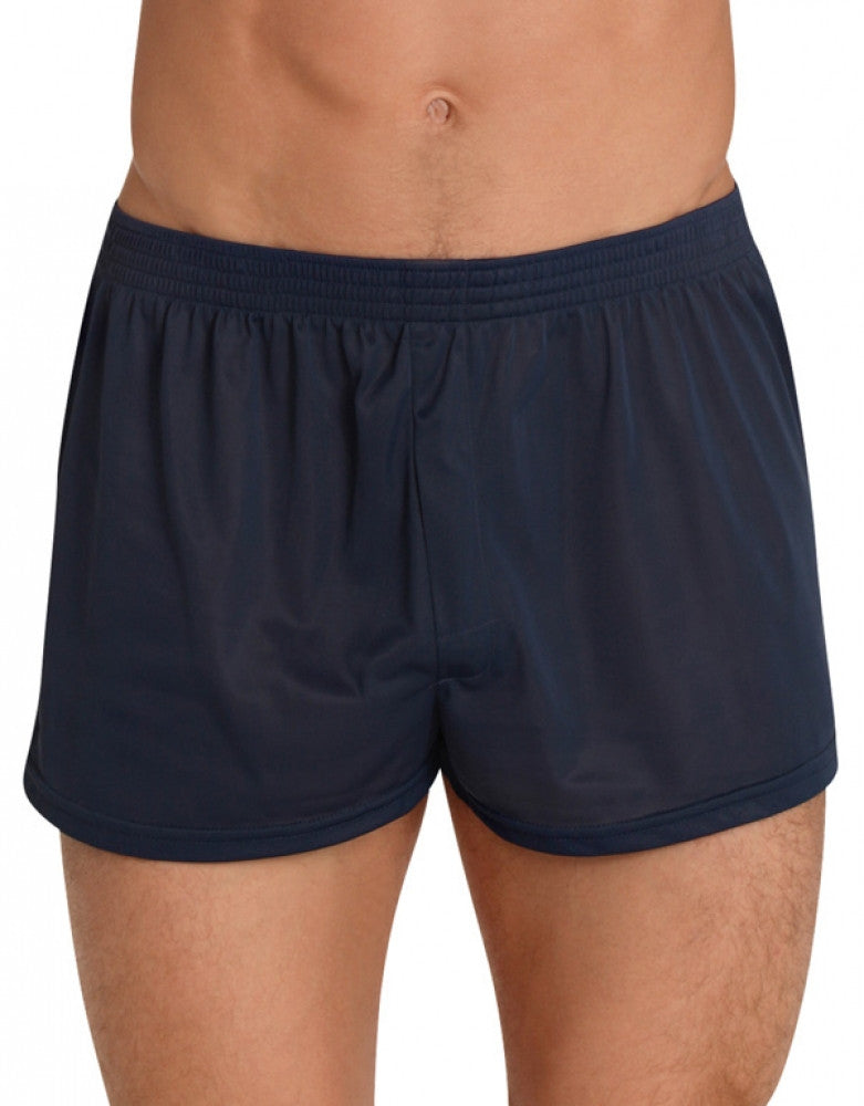 Navy Front Players Tricot Nylon Boxer Short NBX1