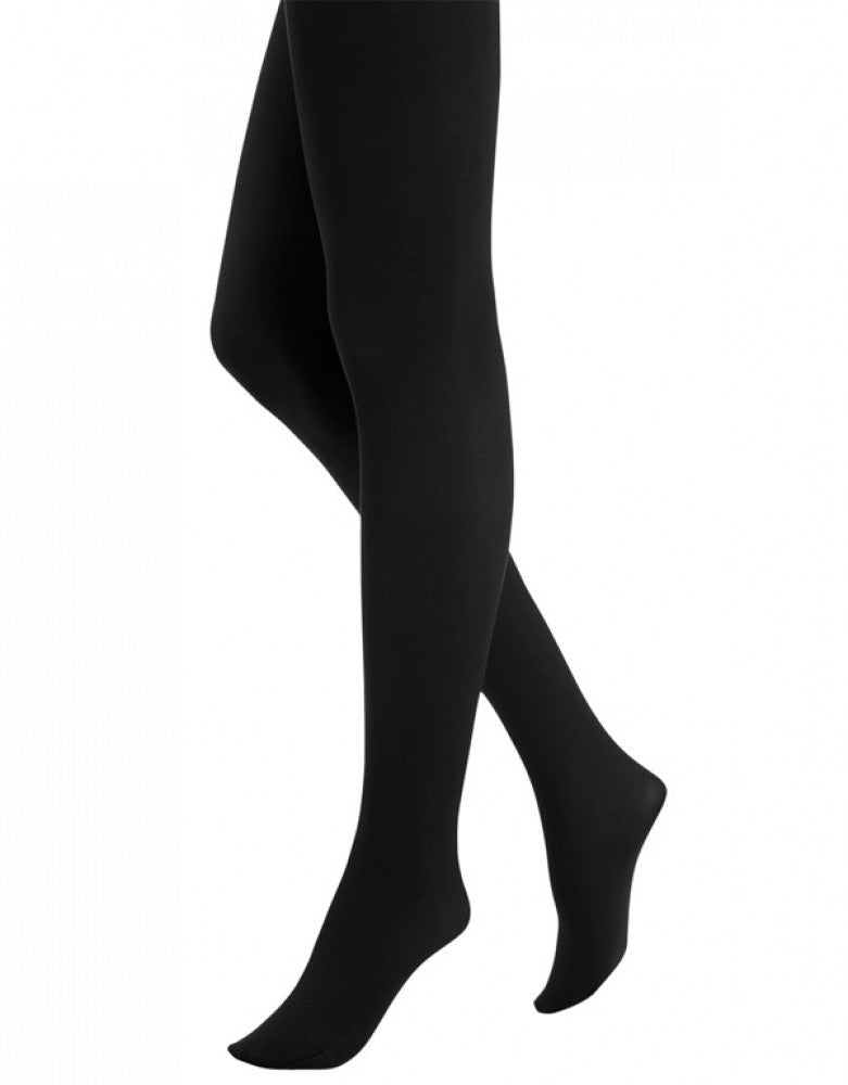 Black Front HUE Super Opaque Tight 11923