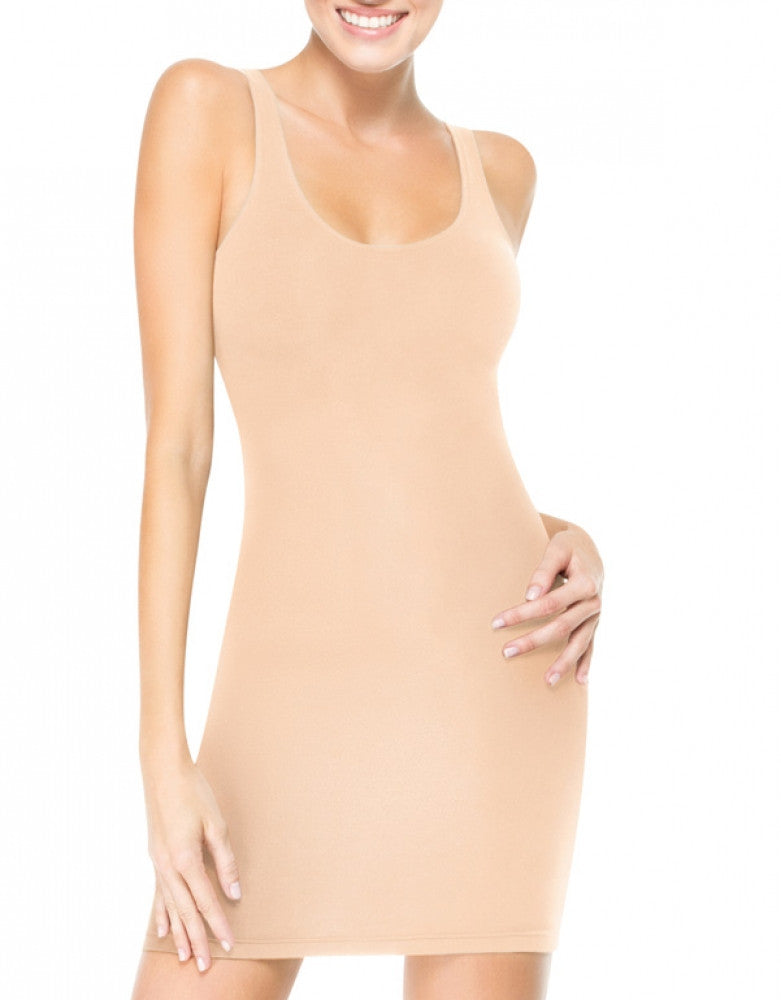 In The Nude Front ASSETS Red Hot Label Sleek Slimmers Tank Slip