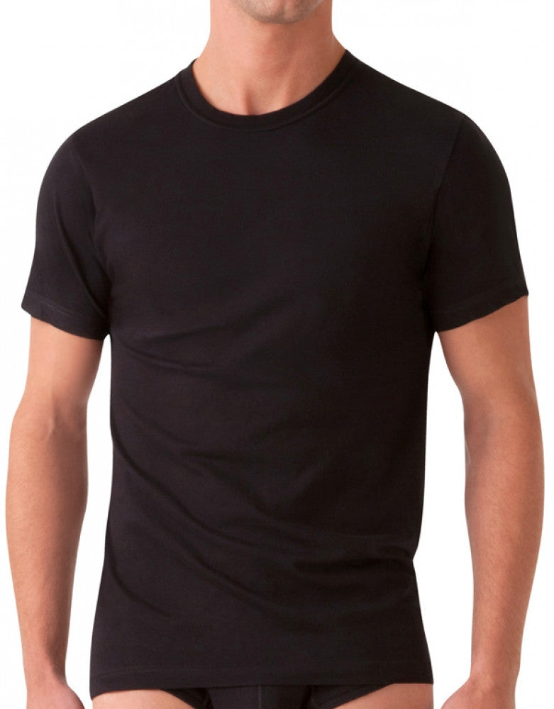 Black Front 2xist 3-Pack Essential Range Jersey Crew Neck T-Shirts
