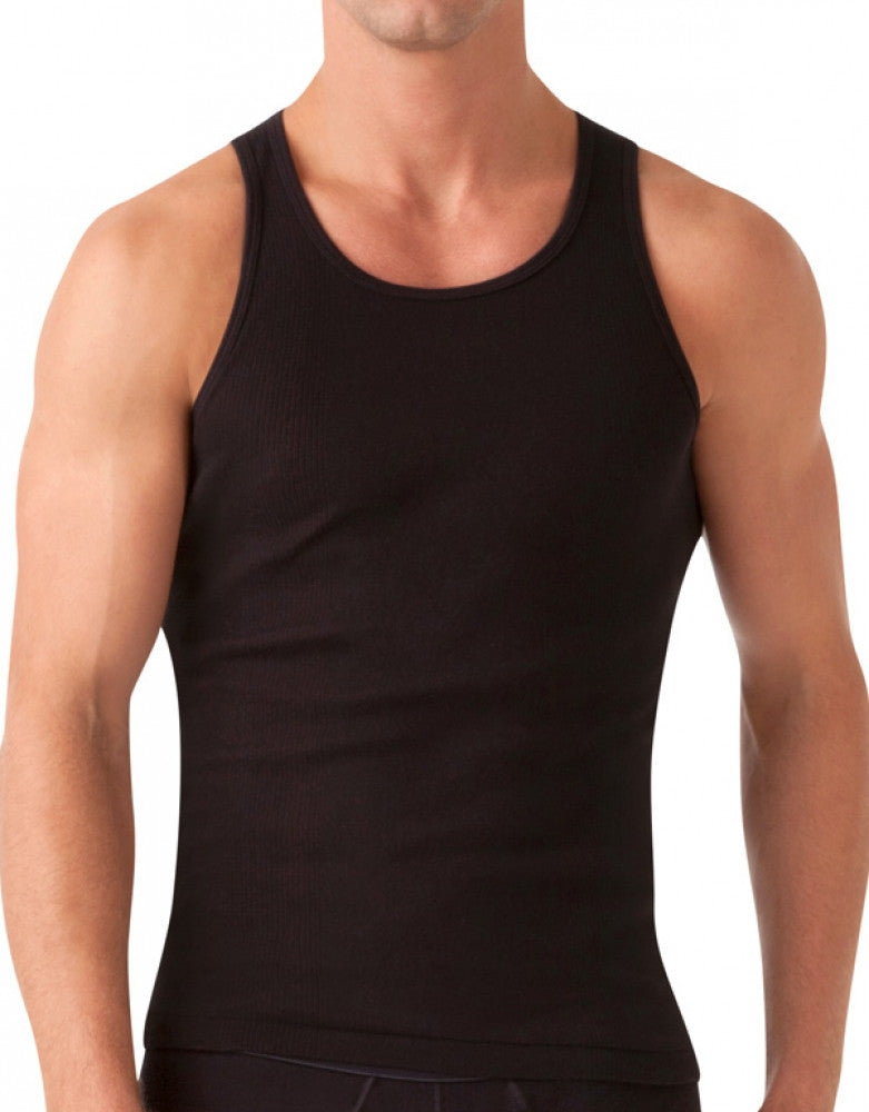 Black Front 2xist 3-Pack Essential Range Tank Tops