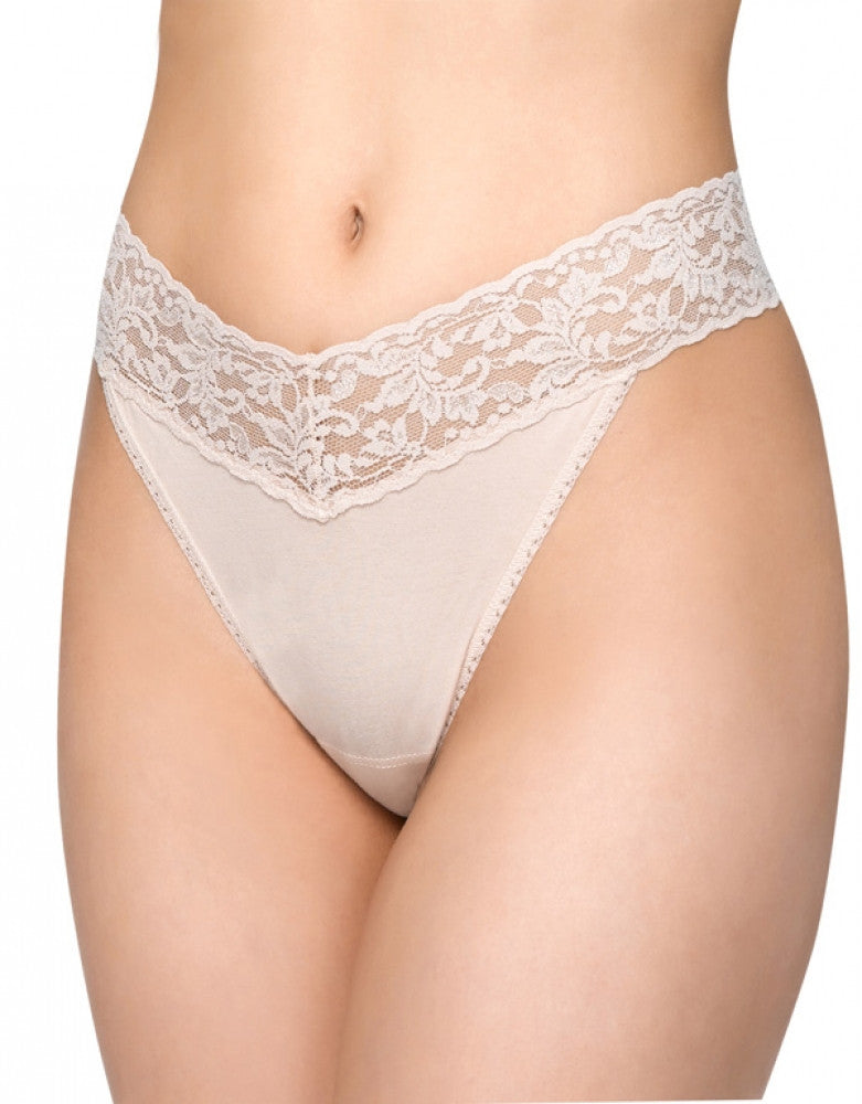 Chai Front Hanky Panky Cotton with a Conscience Original Rise Thong