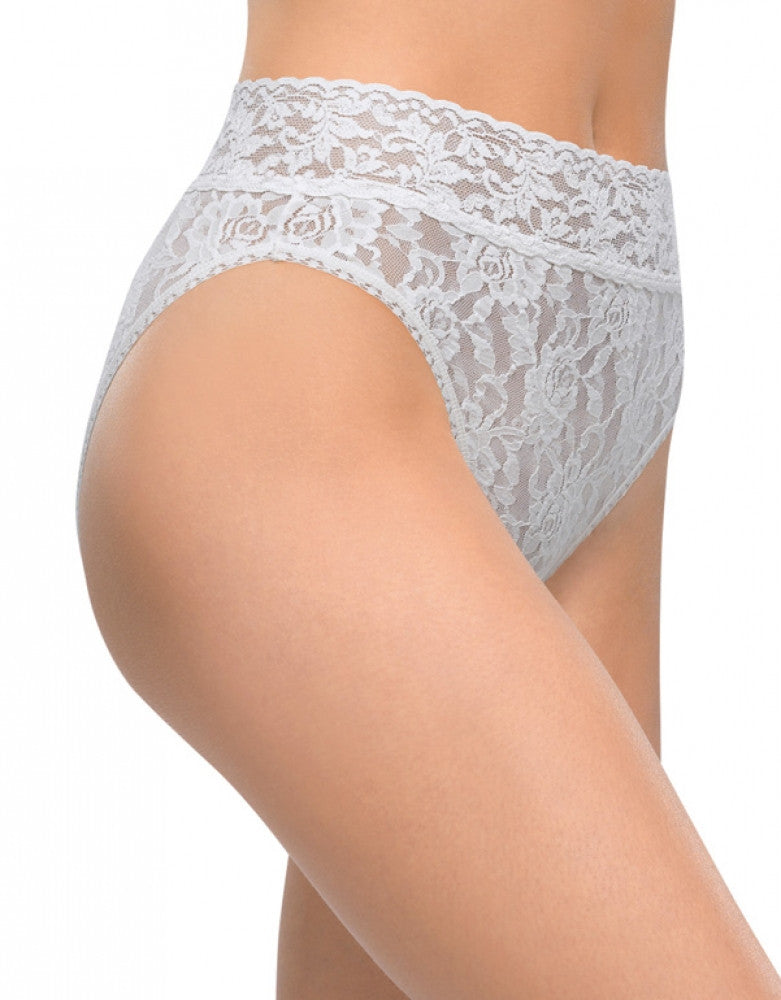 White Front Hanky Panky Signature Lace French Brief
