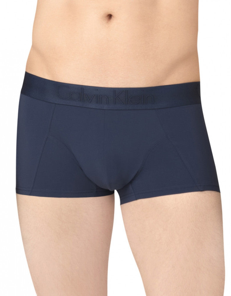 Blue Shadow Front Calvin Klein Black Micro Low Rise Trunk