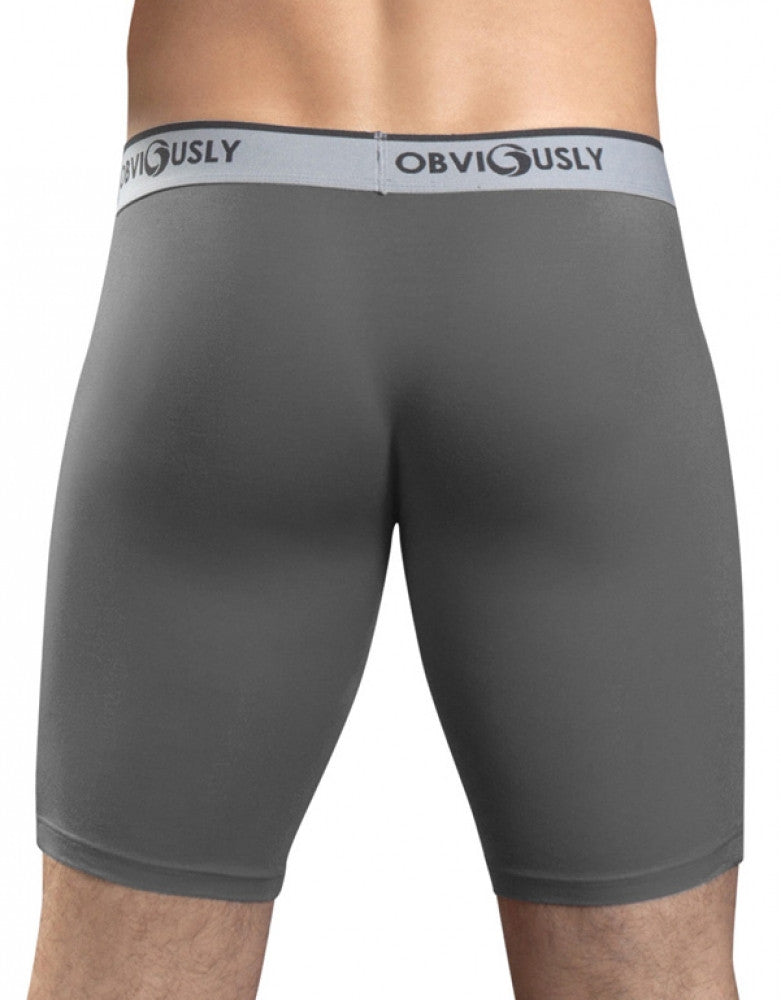 Graphite Back Obviously AnatoFREE Long Boxer Brief