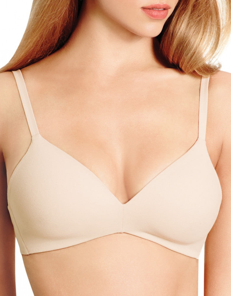 Sand Front How Perfect Wirefree Contour Bra