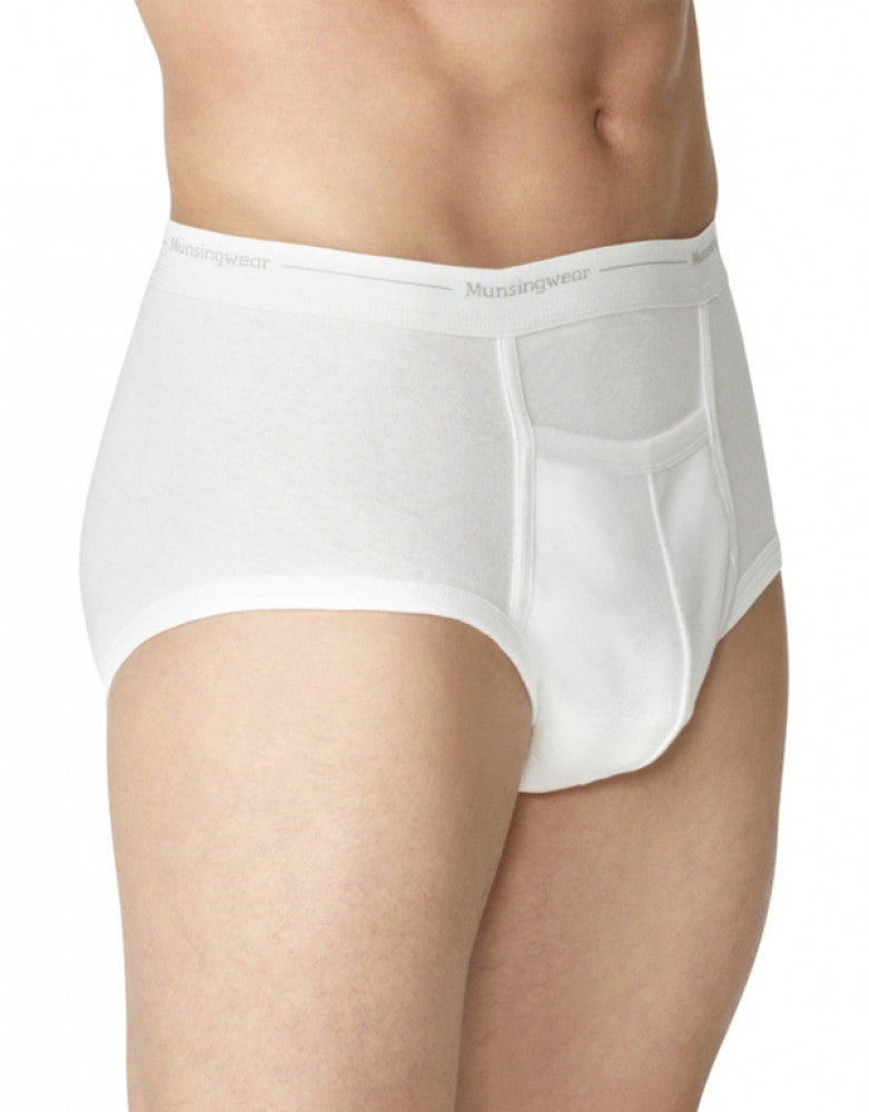 White Side Munsingwear Combo Pack Full Rise Comfort Pouch Briefs