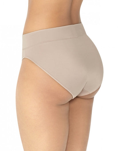 Mocha Back Warner's No Pinching No Problems All Day Fit High Cut Brief