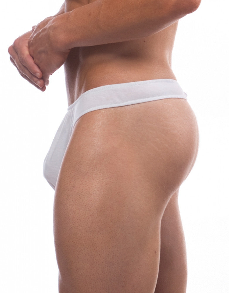 White Side Go Softwear Strapless Thong