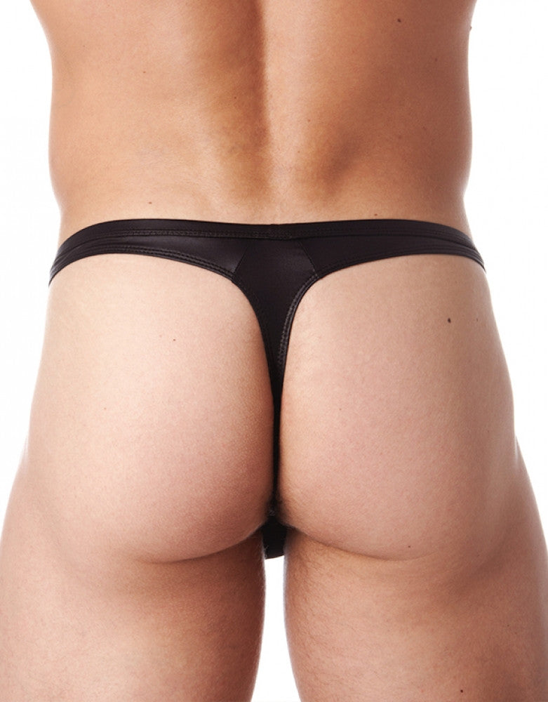 Black Back Gregg Homme Booster Thong