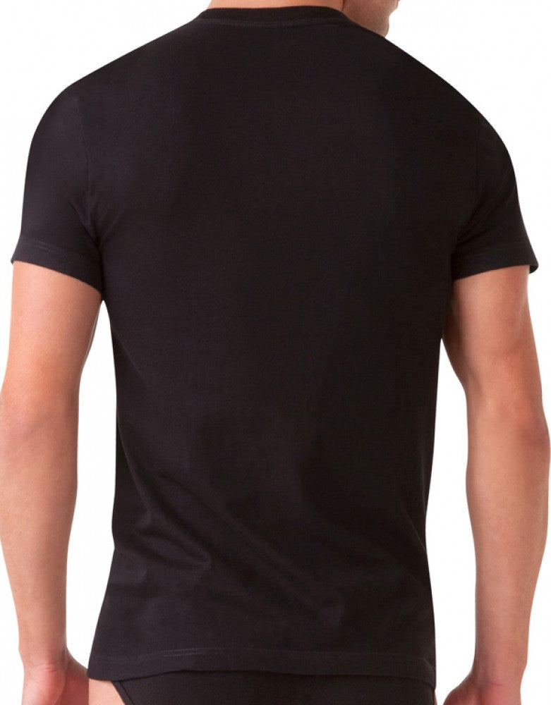 Black Back 2xist 3-Pack Essential Range Jersey Crew Neck T-Shirts
