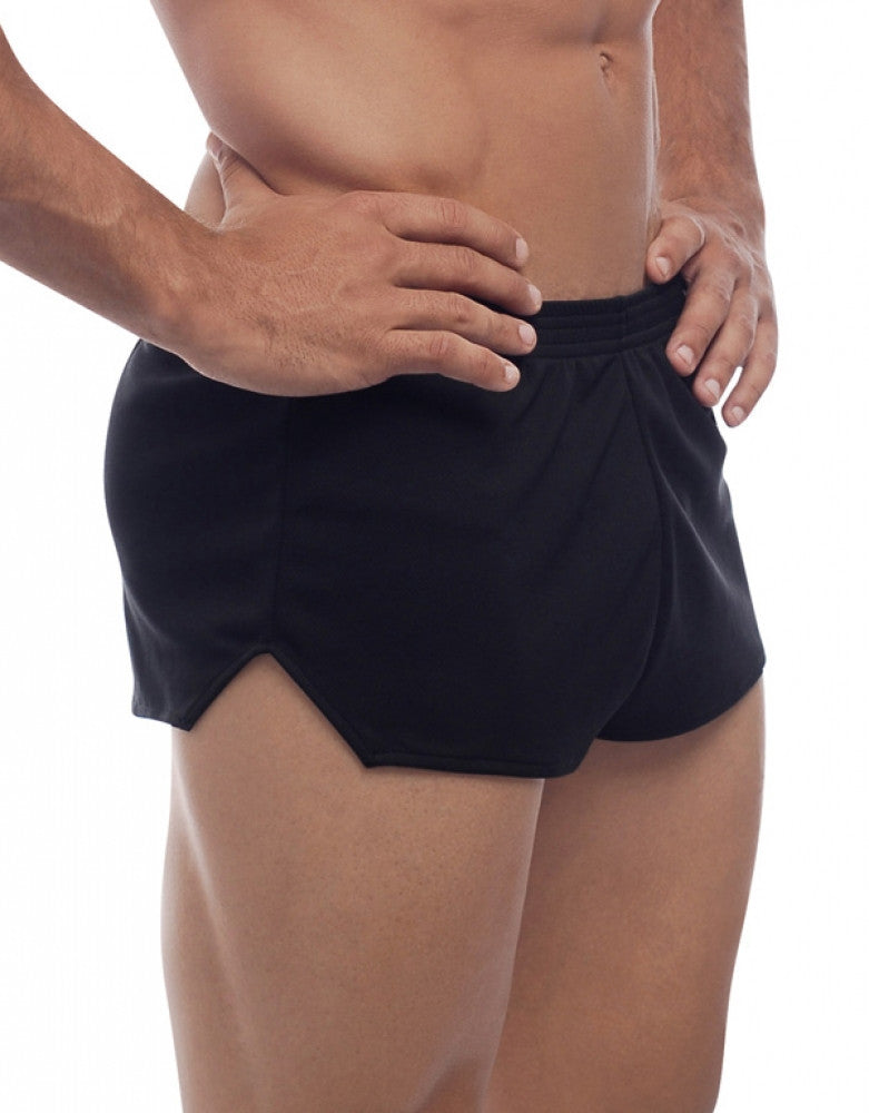 Black Side Go Softwear American Jock Ultra Running Short