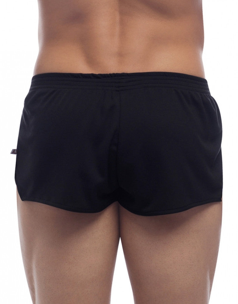 Black Back Go Softwear American Jock Ultra Running Short