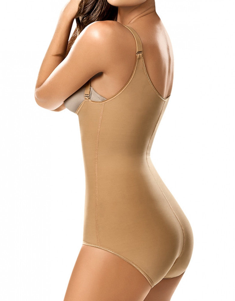 Nude Back Leonisa Compression Brief Bodysuit