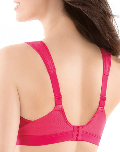 Pink Back Moving Comfort Maia High Impact Sports Bra
