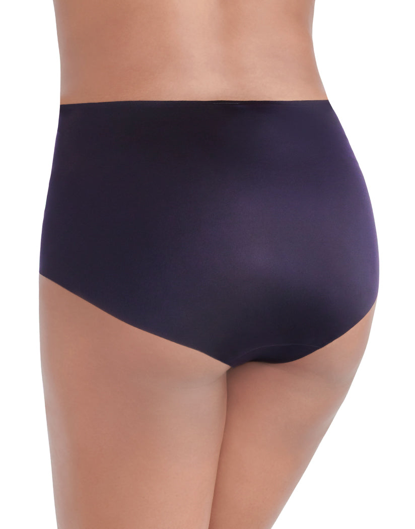 Midnight Black Back Vanity Fair Nearly Invisible No Show Brief Panty 13241