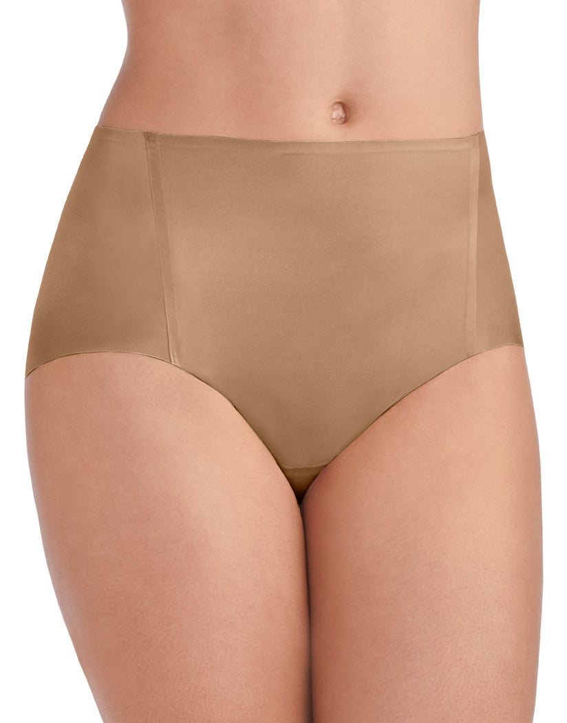 Totally Tan Front Vanity Fair Nearly Invisible No Show Brief Panty 13241