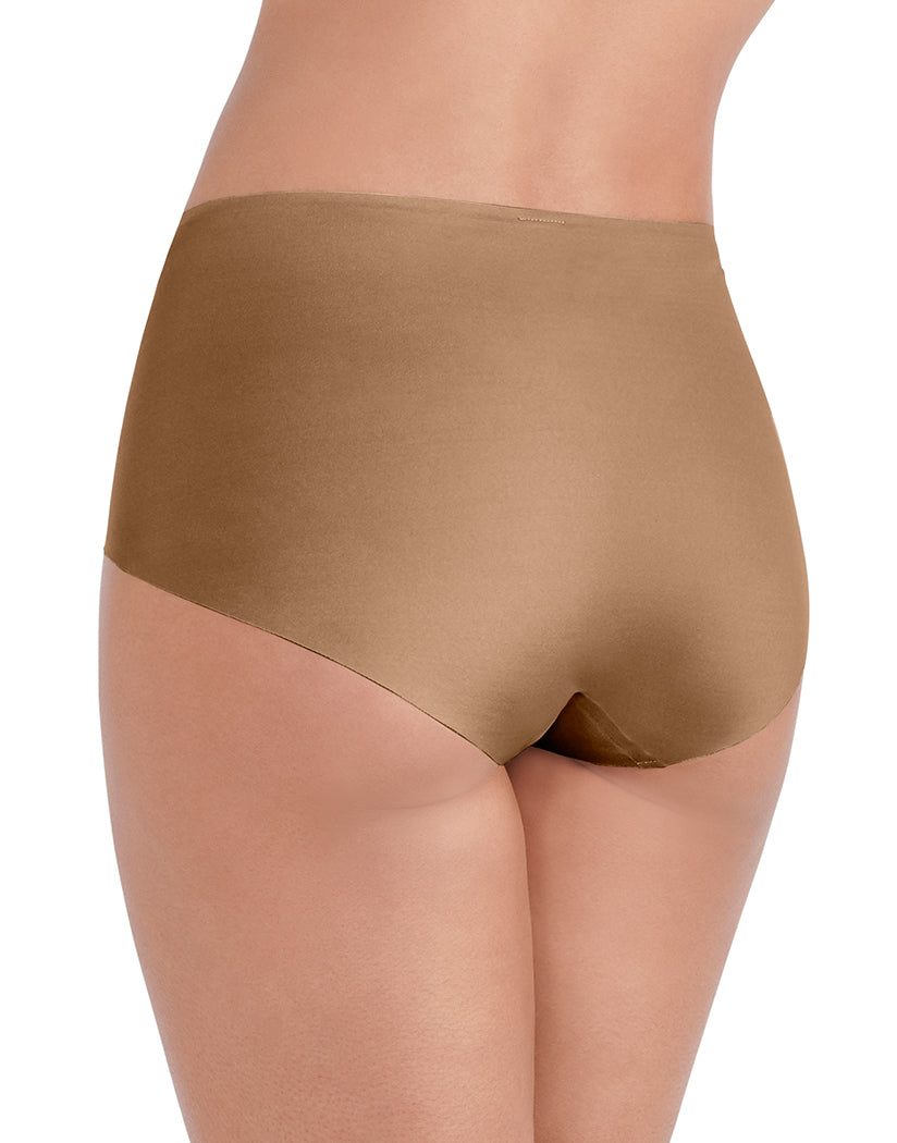 Totally Tan Back Vanity Fair Nearly Invisible No Show Brief Panty 13241