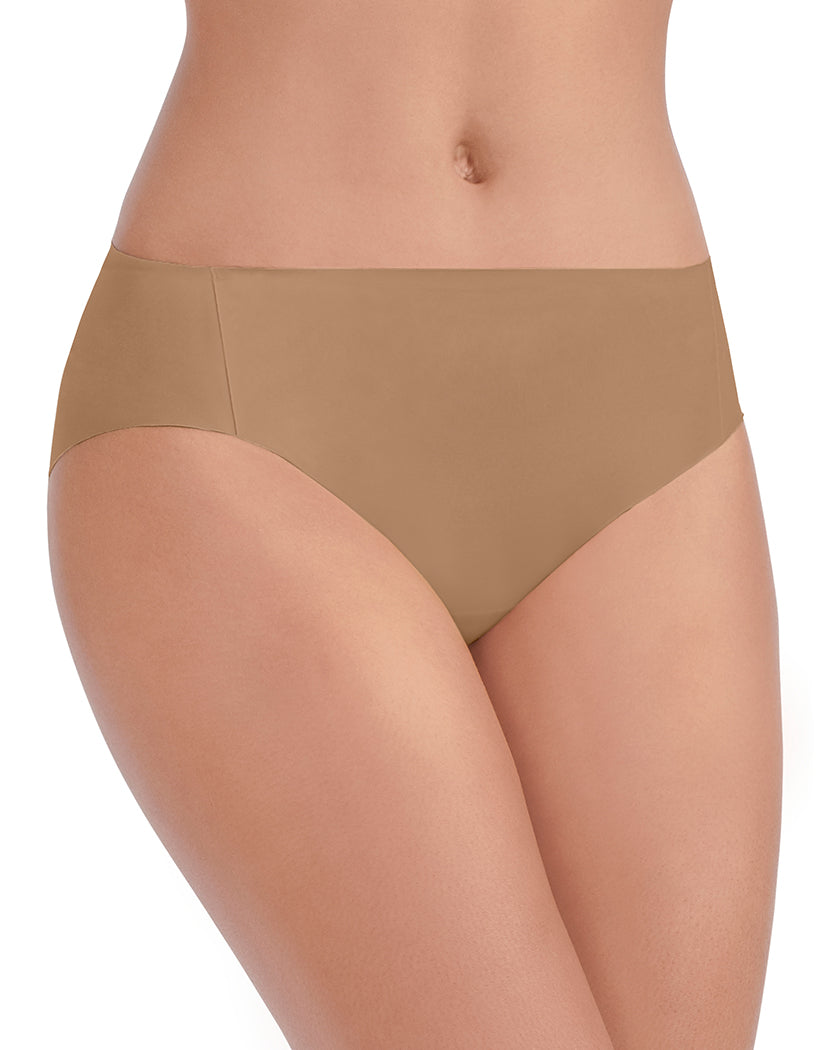 Totally Tan Front Vanity Fair Nearly Invisible No Show Bikini Panty 18242