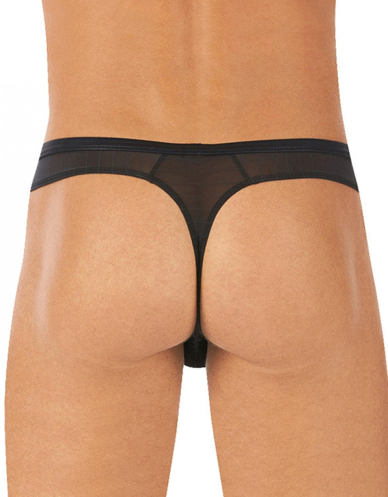 Black Back Gregg Homme Showoff Thong