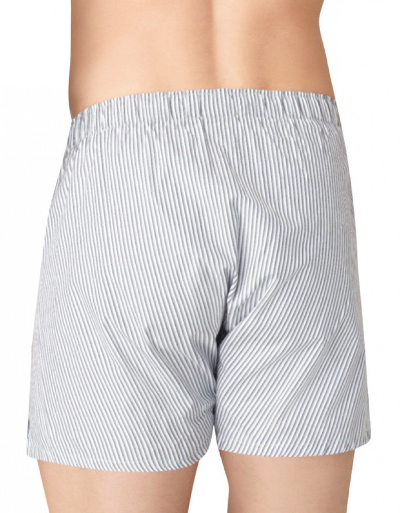 Tide/Morgan Plaid/ Montague Stripe Back Calvin Klein 3-Pack Woven Boxer Shorts