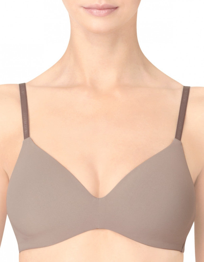 French Roast Front Calvin Klein Perfectly Fit Convetible Wireless Bra