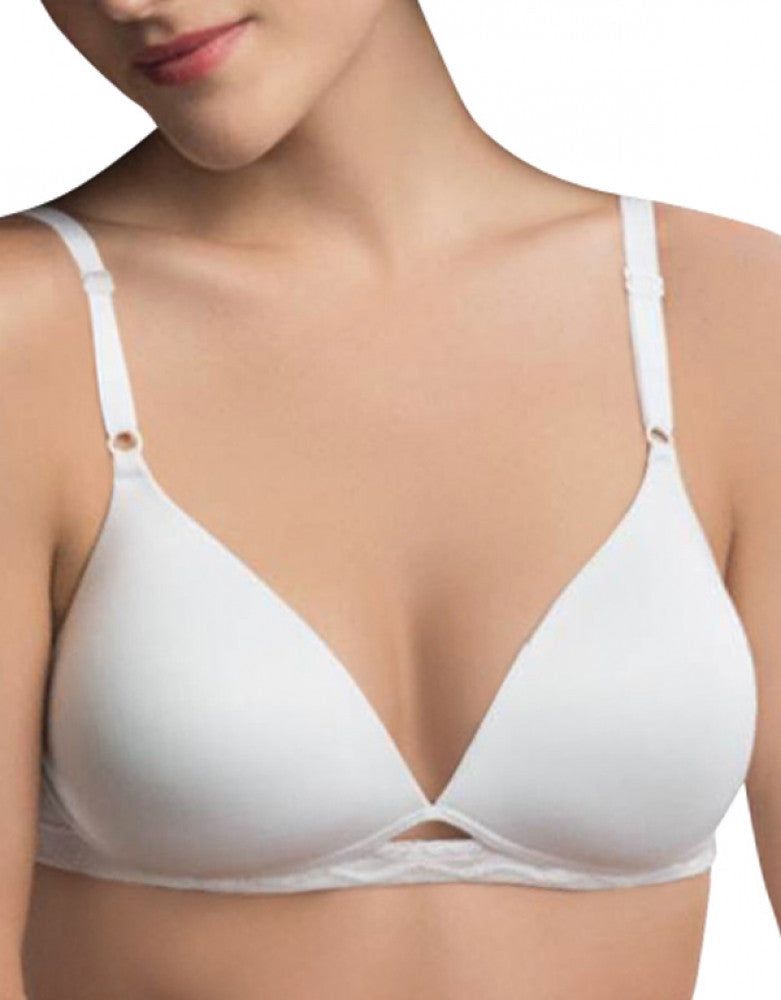 White Front Warner's Cloud 9 Wirefree Lift Bra