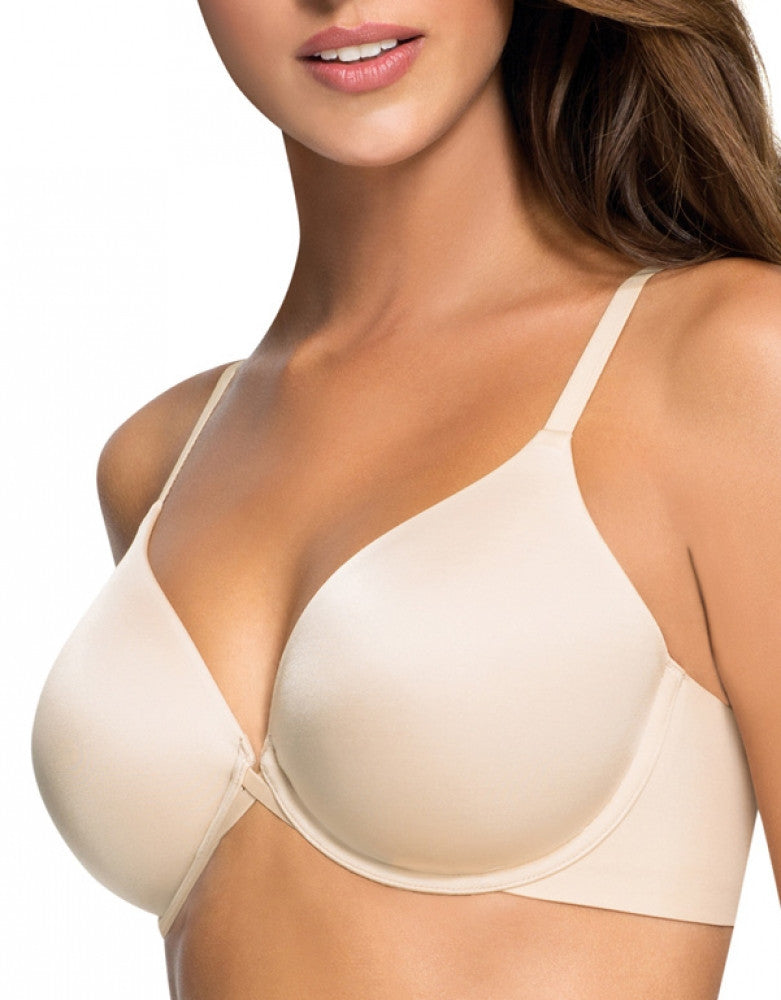 Naturally Nude Front Wacoal Amazing Assets Back Smoothing T-Shirt Bra