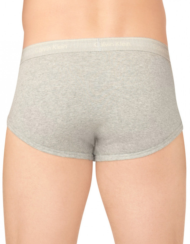 Grey Heather Back Calvin Klein 4-Pack Cotton Classic Brief U4000