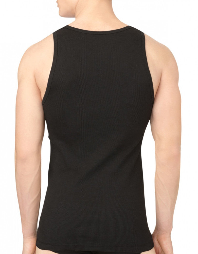 Black Back Calvin Klein 3-Pack Cotton Classic Tank Tops