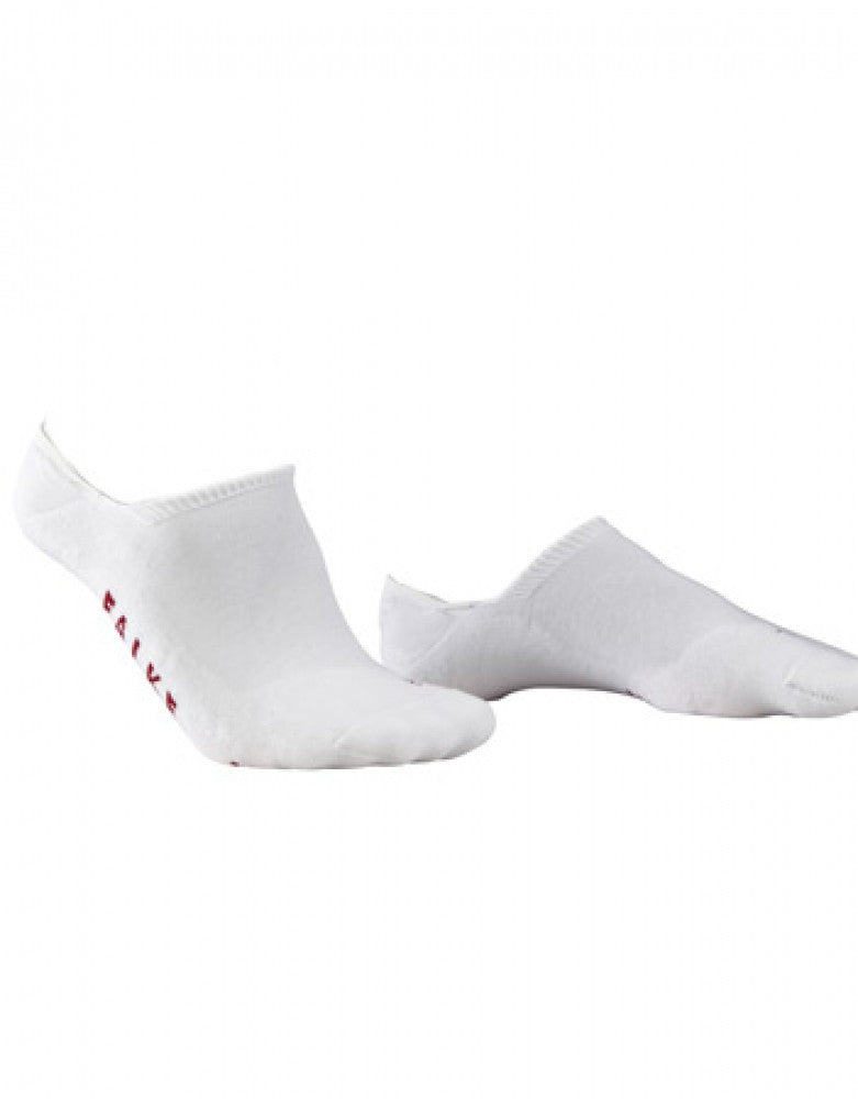 White Front Falke Cool Kick Invisible Sneaker Sock