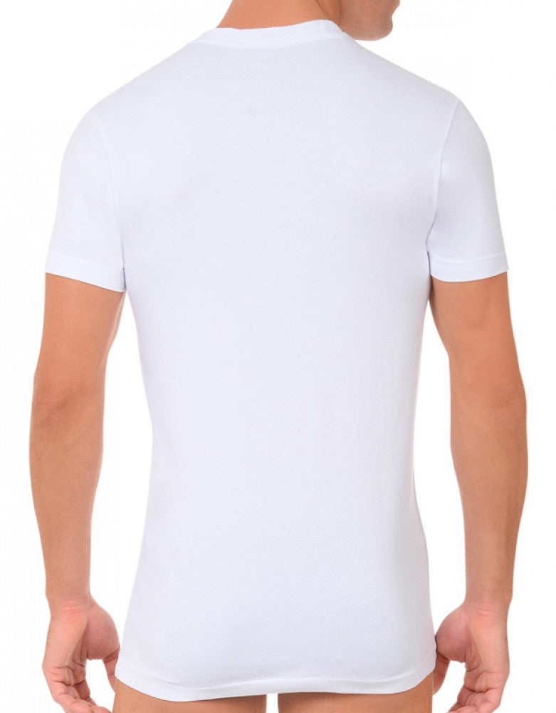 White Back 2xist 2-Pack Stretch Core V-Neck T-Shirts