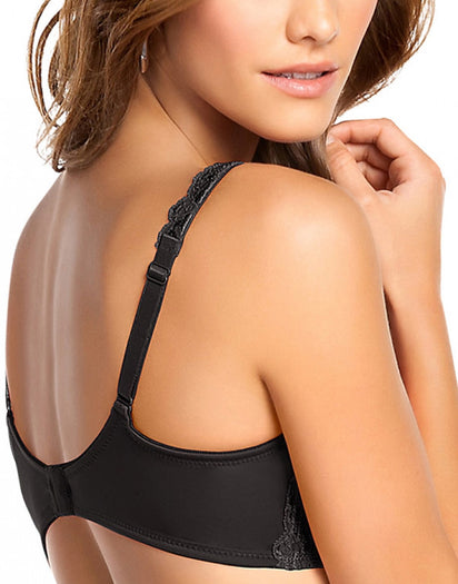 Black Back Leonisa Lace Support Bra