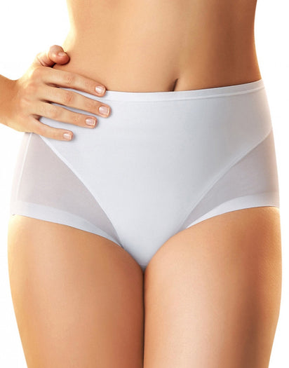 White Front Leonisa Super Comfy Control Panty